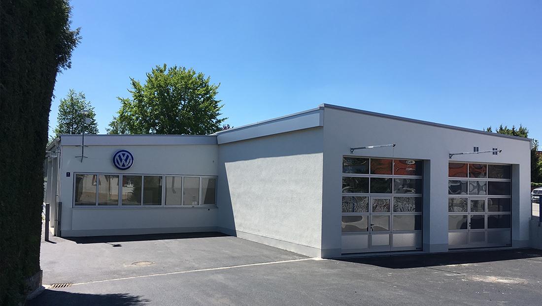 Autohaus Bunz Umbau und Erweiterung