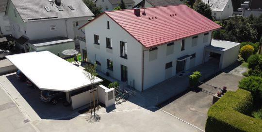 Neubau einer Wohnanlage mit vier Einheiten